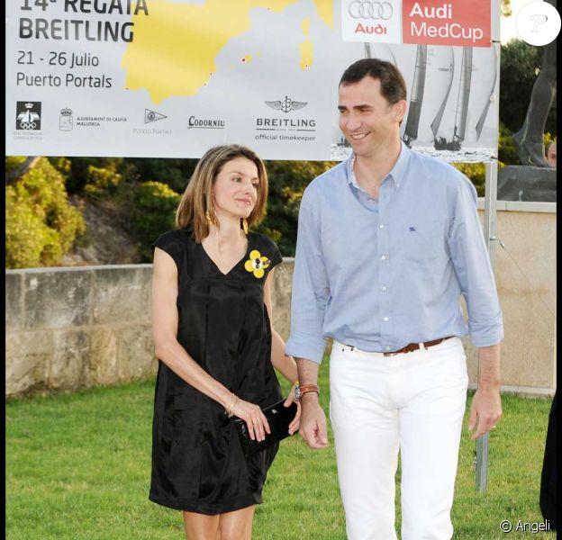 Letizia d'Espagne et Felipe d'Espagne
