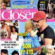 Le magazine Closer publié des photos de Nikos Aliagas en vacances et en famille en Grèce, début août 2013.
