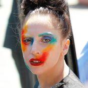 Lady Gaga, peinturlurée pour son come-back : 'Applause'... ou pas ?