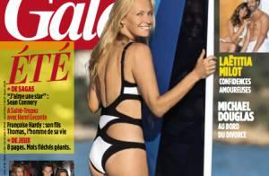 Estelle Lefébure, superbe dans son corps à 46 ans quand sa fille prend son envol
