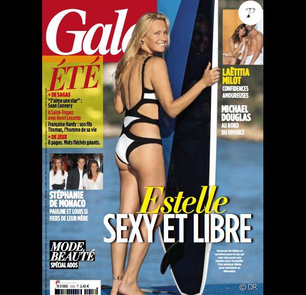 Estelle Lefébure photographiée par Olivier Borde pour le magazine Gala n°1053.