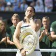 Marion Bartoli gagne Wimbledon à Londres le 6 juillet 2013.