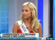 Cassidy Wolf, Miss Teen USA, inquiète : Des photos dénudées bientôt publiées ?
