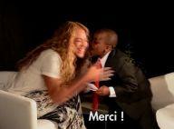 Beyoncé et le mini-Barack Obama : Un petit bisou pour une jolie rencontre