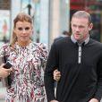 Wayne et Coleen Rooney lors d'un repas entre les joueurs de Manchester United le 20 août 2013 à Manchester.