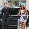 Ryan et Stacey Giggslors d'un repas entre les joueurs de Manchester United le 20 août 2013 à Manchester.