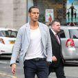 Rio Ferdinandà Manchester pour unrepas entre les joueurs de Manchester United le 20 août 2013.