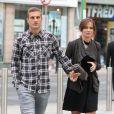 Nemanja Vidic et sa femmeà Manchester pour unrepas entre les joueurs de Manchester United le 20 août 2013.