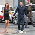 Robin et Bouchra van Persieà Manchester pour unrepas entre les joueurs de Manchester United le 20 août 2013.