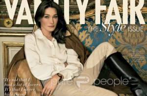 PHOTOS : Quand Carla Bruni s'étale en couverture de Vanity Fair !