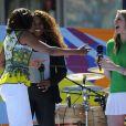 Michelle Obama et Serena Williams pour le Arthur Ashe Kids' Day à New York, le 24 août 2013.