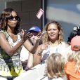 Michelle Obama pour le Arthur Ashe Kids' Day à New York, le 24 août 2013.