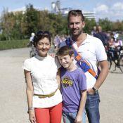 Prince Felix: Tout sourire avec sa mère et son beau-papa-poule au Walkathon 2013