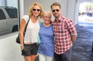 Jason Priestley : La star de ''Beverly Hills'' fête ses 44 ans en famille