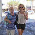 Jason Priestley a fêté ses 44 ans au restaurant E Baldi, avec sa femme et sa mère, à Beverly Hills, le 28 août 2013.
