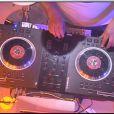 le DJ Tefa lors de la rentrée de Touche pas à mon poste sur D8 le lundi 2 septembre 2013