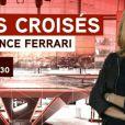 Laurence Ferrari aux commandes de  Tirs Croisés  sur i-Télé
