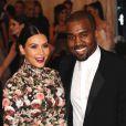 Kim Kardashian et Kanye West lors du MET Gala à New York, le 6 mai 2013.