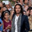 "Russell Brand arrive à la soirée GQ ""Men of the Year"" Awards à Londres, le 3 septembre 2013."