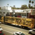 Le camion promotionnel de Katy Parry, à Los Angeles le 19 juillet 2013.