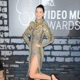 Katy Perry aux MTV Video Music Awards au Barclay's Center à New York. Le 25 août 2013.
