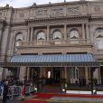 Le Teatro Colon à Buenos Aires le 6 septembre 2013 lors de la soirée d'ouverture de la 125e session du CIO, qui doit désigner la ville hôte des JO 2020.