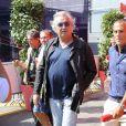 Flavio Briatore dans les travées du Grand Prix d'Italie à Monza, le 8 septembre 2013