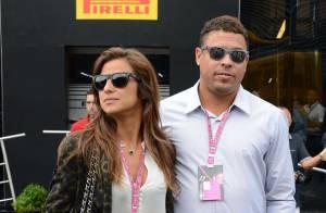 Ronaldo et sa belle Paula, amoureux devant David Hasselhoff et sa jeune conquête