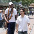 Dennis Rodman à The Grove à West Hollywood, le 9 mai 2013