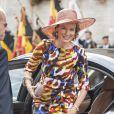 Le look de Mathilde, un atout charme. Le roi Philippe et la reine Mathilde de Belgique ont lancé le 6 septembre 2013 à Louvain, dans le Brabant flamand, leur tournée ''Joyeuses rentrées'' destinée à prendre contact avec leurs sujets suite à l'intronisation du nouveau souverain le 21 juillet.