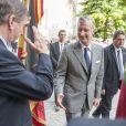 Le roi Philippe et la reine Mathilde de Belgique ont lancé le 6 septembre 2013 à Louvain, dans le Brabant flamand, leur tournée ''Joyeuses rentrées'' destinée à prendre contact avec leurs sujets suite à l'intronisation du nouveau souverain le 21 juillet.