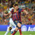 Lionel Messi à Barcelone, le 2 août 2013.