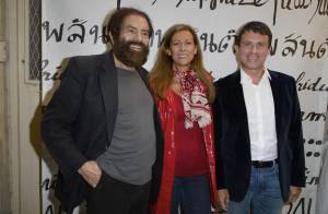 Manuel Valls et Anne Gravoin : Complicité et convivialité au Nouvel An juif