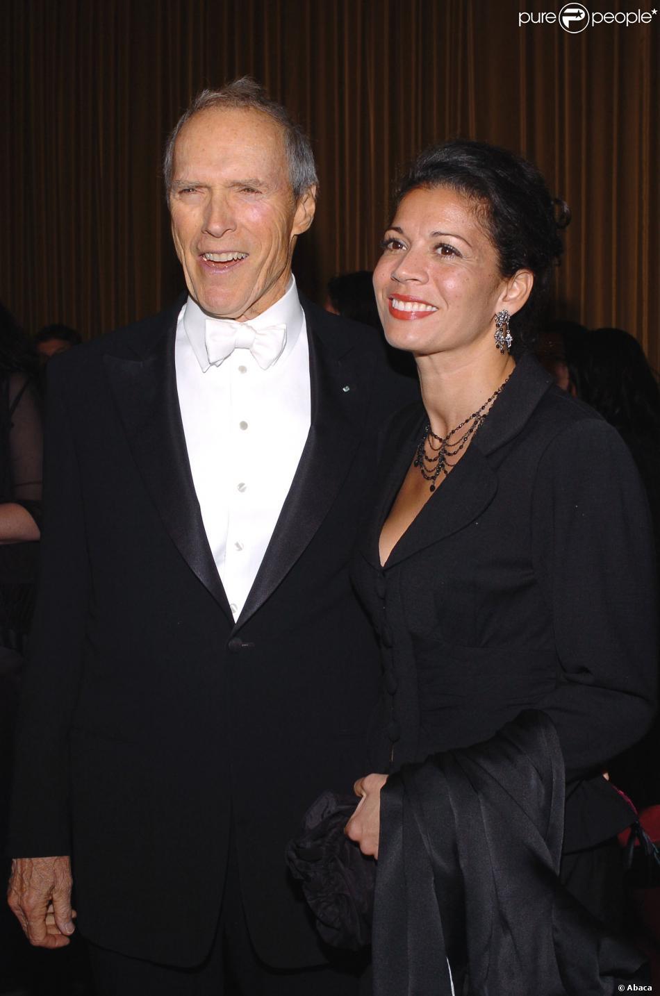 Clint Eastwood et sa femme Dina Ruiz-Eastwood à Los Angeles le 29 janvier 2005