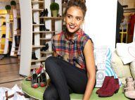 Jessica Alba : Modeuse à New York, elle joue au jeu du relooking avec brio