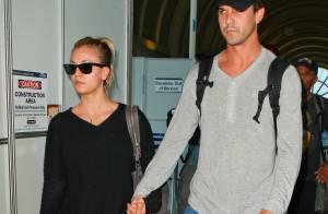 Kaley Cuoco : Amoureuse et heureuse au bras de son homme Ryan Sweeting