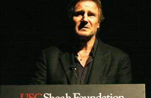 Liam Neeson, ému, fête les 20 ans du film culte ''La Liste de Schindler''