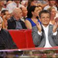Amidou à Vivement Dimanche le 15/09/2010 avec Claude Lelouch