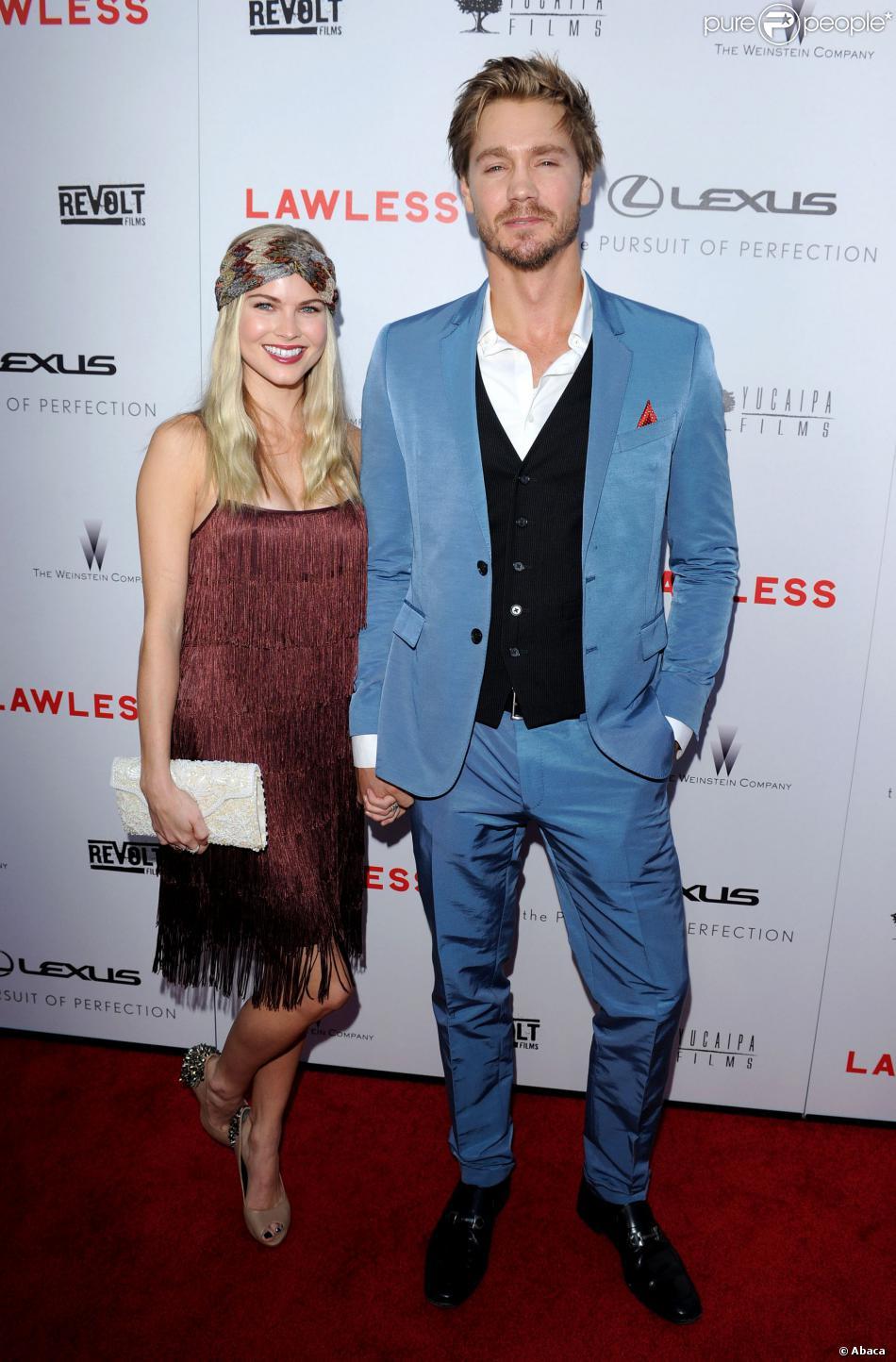 Chad Michael Murray et Kenzie Dalton à Los Angeles, le 23 août 2012.
