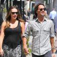 Tamara Ecclestone, très en formes, et son mari Jay Rutland dans les rues de Beverly Hills, le 17 septembre 2013