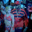 """Capture du clip """"Mike WiLL Made-It - 23"""" avec Miley Cyrus, Wiz Khalifa et Juicy J"""