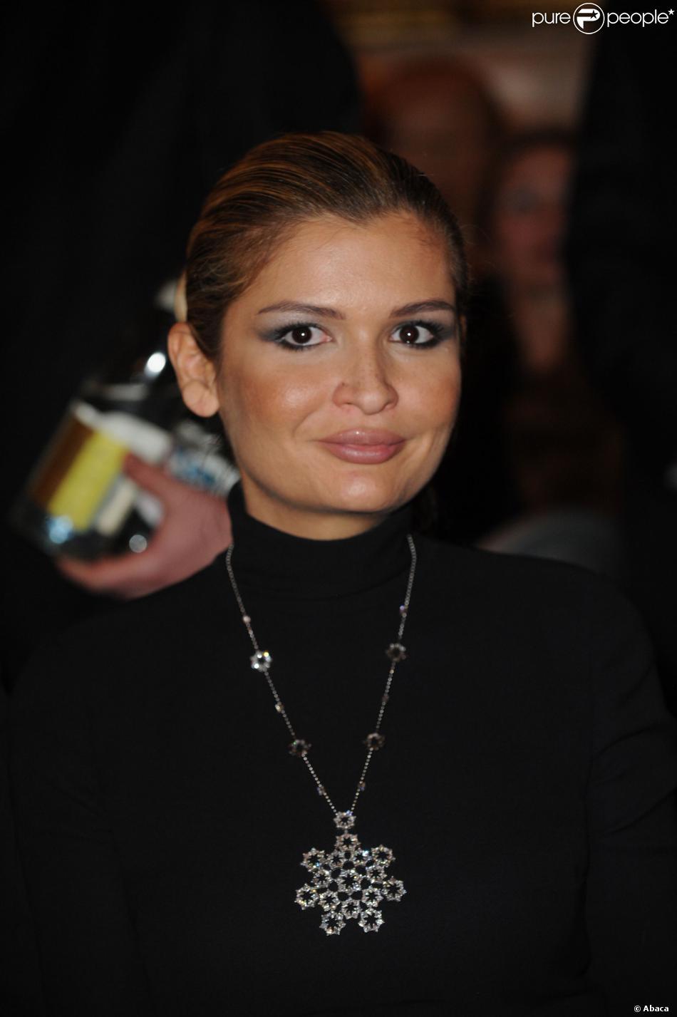Lola Karimova à Versailles le 1er février 2010.
