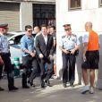 Lionel Messi arrive au tribunal de Gava, près de Barcelone, le 27 septembre 2013, où il doit être entendu dans le cadre de sa mise en examen pour fraude fiscale.