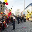Les indépendantistes et antimonarchistes flamands étaient aussi au rendez-vous pour la visite du roi Philippe et de la reine Mathilde de Belgique à Anvers le 27 septembre 2013 dans le cadre de leur tournée ''Joyeuses entrées''.
