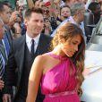 Lionel Messi et sa petite amie Antonella Rocuzzo à Blanes, le 13 juillet 2013.
