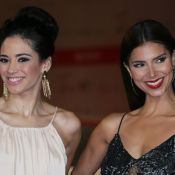Roselyn Sanchez et Edy Ganem : Sublimes ''Devious Maids'' d'une nuit romaine