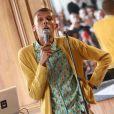 """""""Stromae lors de la 2eme édition du W9 Home Festival à Paris. Le 28 septembre 2013."""""""