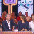Valérie Damidot était invitée dans 'Touche pas à mon poste' sur D8. Le 3 octobre 2013.