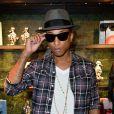 Pharrell Williams à Paris, le 26 septembre 2013.