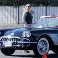LeAnn Rimes et son chéri Eddie Cibrian en plein tournage, le vendredi 4 octobre 2013, à Los Angeles.